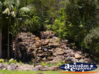 Lake Baroon Waterfall . . . CLICK TO ENLARGE
