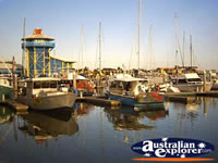 Mooloolaba Harbour with Boats . . . CLICK TO ENLARGE