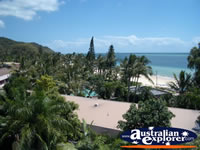 View from Moreton Island Resort . . . CLICK TO ENLARGE