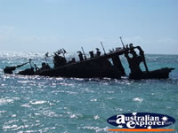 Shipwreck at Moreton Island . . . CLICK TO ENLARGE