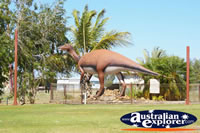 Muttaburra Dinosaur . . . CLICK TO ENLARGE
