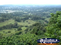 Landscape of Nambour Dulong from Lookout . . . CLICK TO ENLARGE