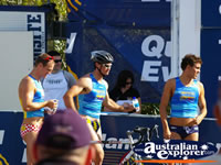 Triathalon Athletes in Noosa . . . CLICK TO ENLARGE