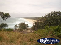 View of North Stradbroke Island . . . CLICK TO ENLARGE