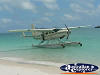 Seaplane in Shallow Waters . . . CLICK TO ENLARGE