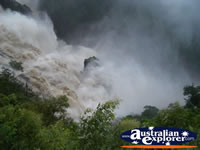 Skyrail Crashing Water at Barron Falls . . . CLICK TO ENLARGE