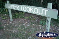 Springbrook Hardys Lookout Sign - Gold Coast Hinterland . . . CLICK TO ENLARGE