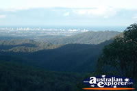 Springbrook Wunburra Lookout Landscape of Gold Coast Hinterland . . . CLICK TO ENLARGE