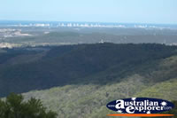 Tamborine Mountain Lookout Landscape of Gold Coast Hinterland . . . CLICK TO ENLARGE