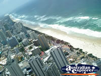 Beautiful View over Gold Coast Beaches . . . CLICK TO ENLARGE