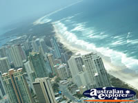 View of the Beautiful Beaches on the Gold Coast . . . CLICK TO ENLARGE