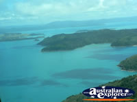 Beautiful View of Islands in the Whitsundays . . . CLICK TO ENLARGE