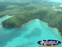 Islands in the Whitsundays . . . CLICK TO ENLARGE