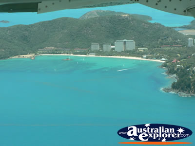 View of the Coastline in the Whitsundays . . . CLICK TO VIEW ALL WHITSUNDAYS POSTCARDS
