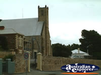Burra Church from Street . . . CLICK TO ENLARGE