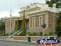 Burra Town Hall . . . CLICK TO ENLARGE