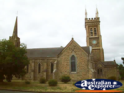 View of Strathalbyn Church . . . CLICK TO VIEW ALL STRATHALBYN POSTCARDS