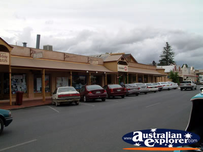 Strathalbyn Main Street and Shops . . . CLICK TO VIEW ALL STRATHALBYN POSTCARDS