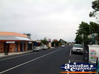 View Down Penola Main Street . . . CLICK TO ENLARGE