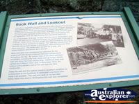 Blue Lake Plaque in Mount Gambier . . . CLICK TO ENLARGE