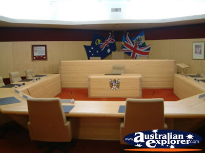 Mount Gambier City Council Chambers . . . VIEW ALL MOUNT GAMBIER PHOTOGRAPHS