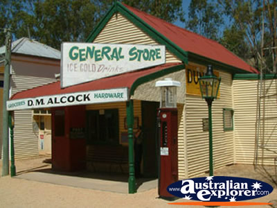Loxton Historical Village General Store . . . VIEW ALL LOXTON PHOTOGRAPHS
