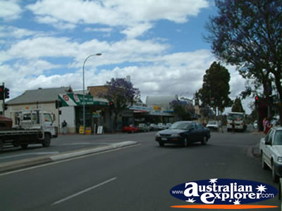 View Down Murray Bridge Street . . . VIEW ALL MURRAY BRIDGE PHOTOGRAPHS