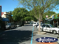 View Down Mt Barker Street . . . CLICK TO ENLARGE