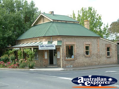 Hahndorf Building From Street . . . CLICK TO VIEW ALL HAHNDORF POSTCARDS