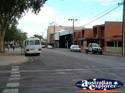 Port Augusta Street Corner . . . VIEW ALL PORT AUGUSTA PHOTOGRAPHS