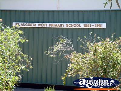 Port Augusta West Primary . . . VIEW ALL PORT AUGUSTA PHOTOGRAPHS