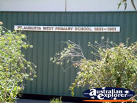 Port Augusta West Primary . . . CLICK TO ENLARGE