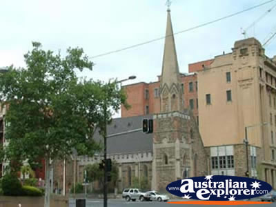 Church in Adelaide . . . CLICK TO VIEW ALL ADELAIDE POSTCARDS