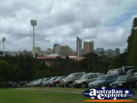 Cars at Adelaide Cricket Ground . . . CLICK TO ENLARGE