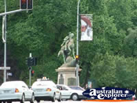 Adelaide Statue . . . CLICK TO ENLARGE