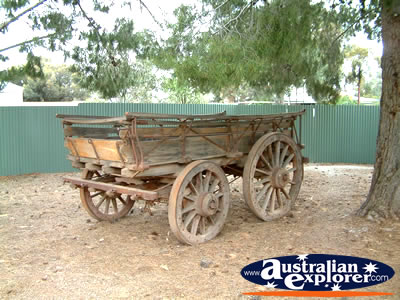 Orroroo Nanas Home B & B Wagon . . . VIEW ALL ORROROO PHOTOGRAPHS