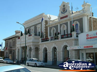 Gawler Memorial Institute & Town Hall . . . VIEW ALL GAWLER PHOTOGRAPHS