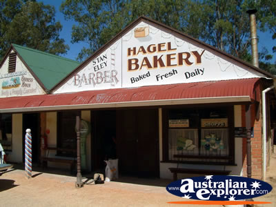 Loxton Historical Village Bakery . . . CLICK TO VIEW ALL LOXTON POSTCARDS