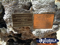 Loxton Historical Village Plaques . . . CLICK TO ENLARGE