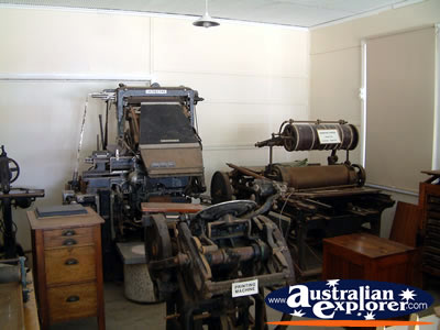 Loxton Historical Village Machinery . . . CLICK TO VIEW ALL LOXTON POSTCARDS