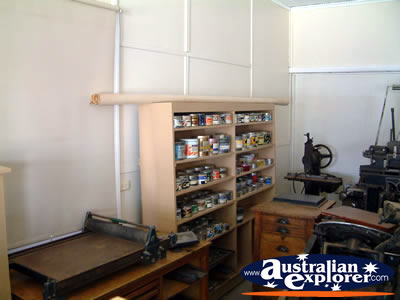 Loxton Historical Village Vintage Office Supplies . . . VIEW ALL LOXTON PHOTOGRAPHS