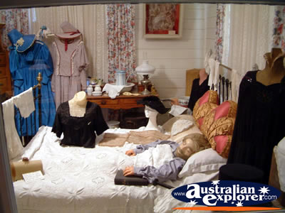 Loxton Historical Village Masters Bedroom . . . VIEW ALL LOXTON PHOTOGRAPHS
