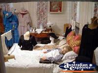 Loxton Historical Village Masters Bedroom . . . CLICK TO ENLARGE