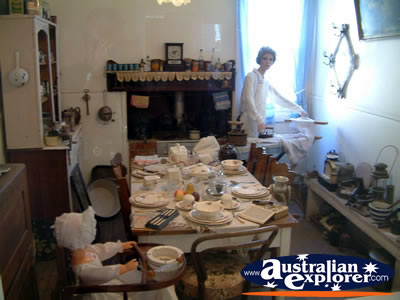 Loxton Historical Village Dining Room . . . VIEW ALL LOXTON PHOTOGRAPHS