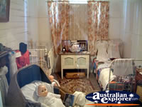 Loxton Historical Village Bedroom . . . CLICK TO ENLARGE