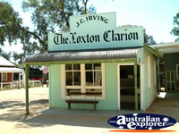 Loxton Historical Village Clarion . . . CLICK TO ENLARGE