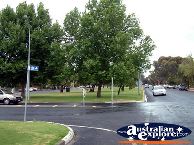 Renmark Street Corner . . . VIEW ALL RENMARK PHOTOGRAPHS