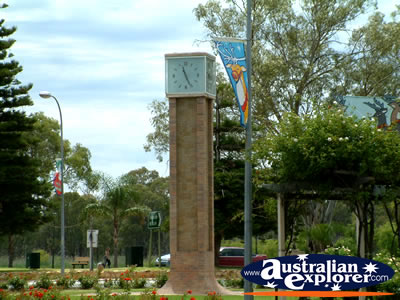 Renmark Town Clock . . . VIEW ALL RENMARK PHOTOGRAPHS