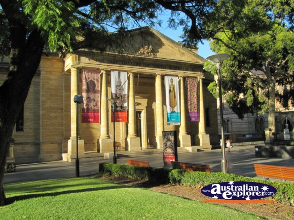Art Gallery of South Australia . . . CLICK TO VIEW ALL ADELAIDE POSTCARDS