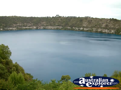 Mount Gambier Blue Lake View . . . CLICK TO VIEW ALL MOUNT GAMBIER POSTCARDS